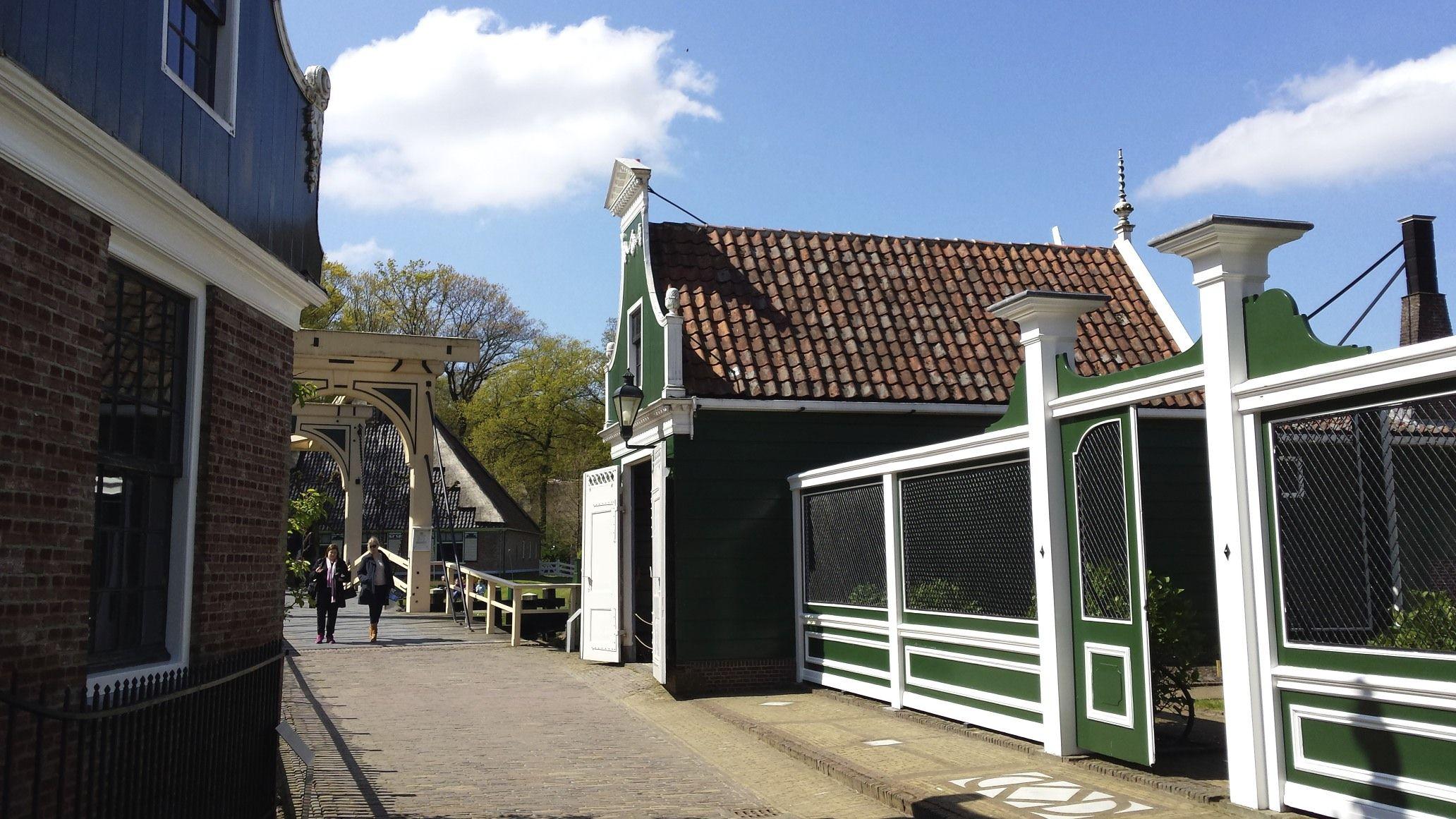 Wagenhuis uit de Zaanstreek in het Openluchtmuseum