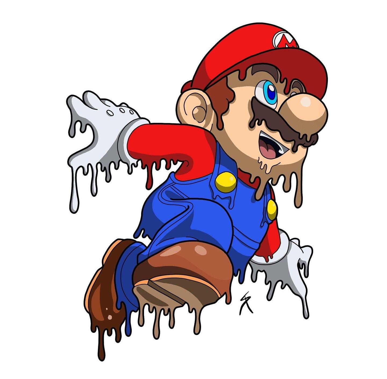 Pin by D.j. Dominguez on fondos Super mario art, Mario