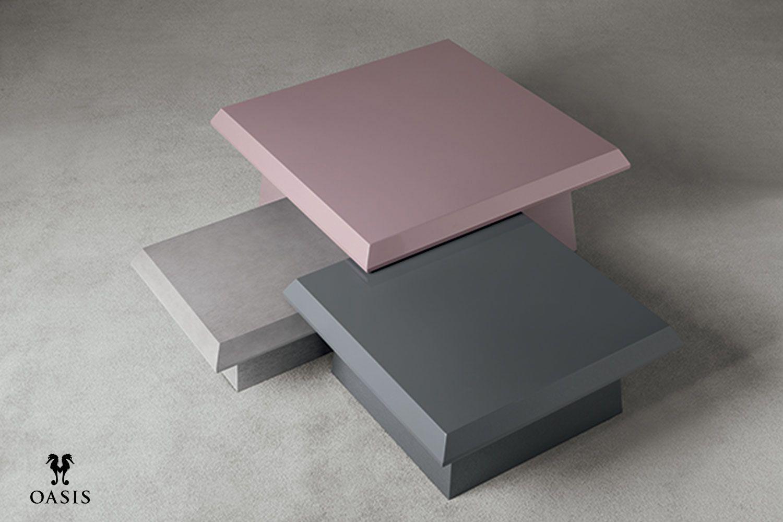 Dorian small tables by Massimiliano Raggi architetto for Oasis Group