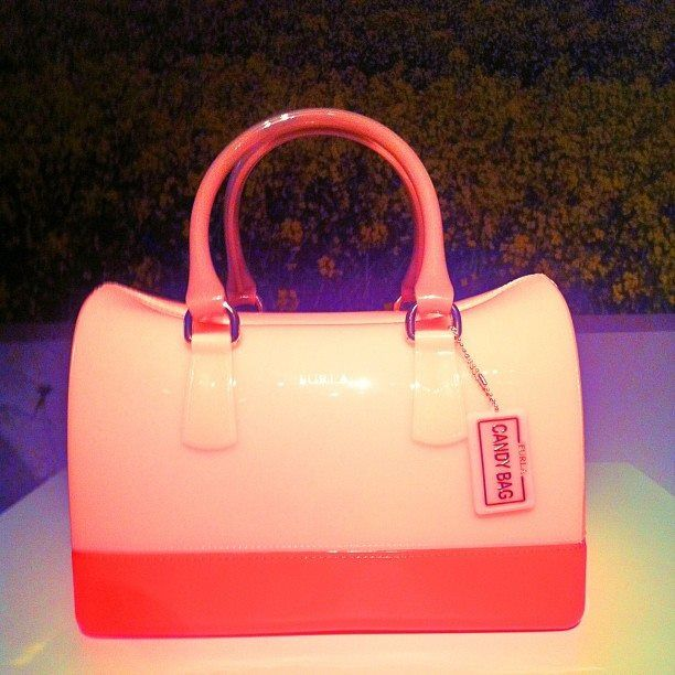 Ain't no bag sweeter. The Candy bag from FURLA's SS14 collection #mfw #fashionweek