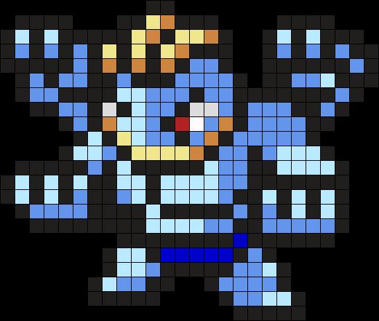 Machamp Pokemon Bead Pattern Kandi Pattern Pokemon Perle