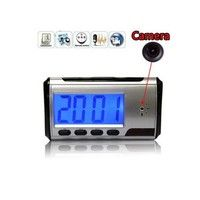 Wish   Camera Alarm Clock Micro Hidden Cam  Mini DV DVR Video Spy
