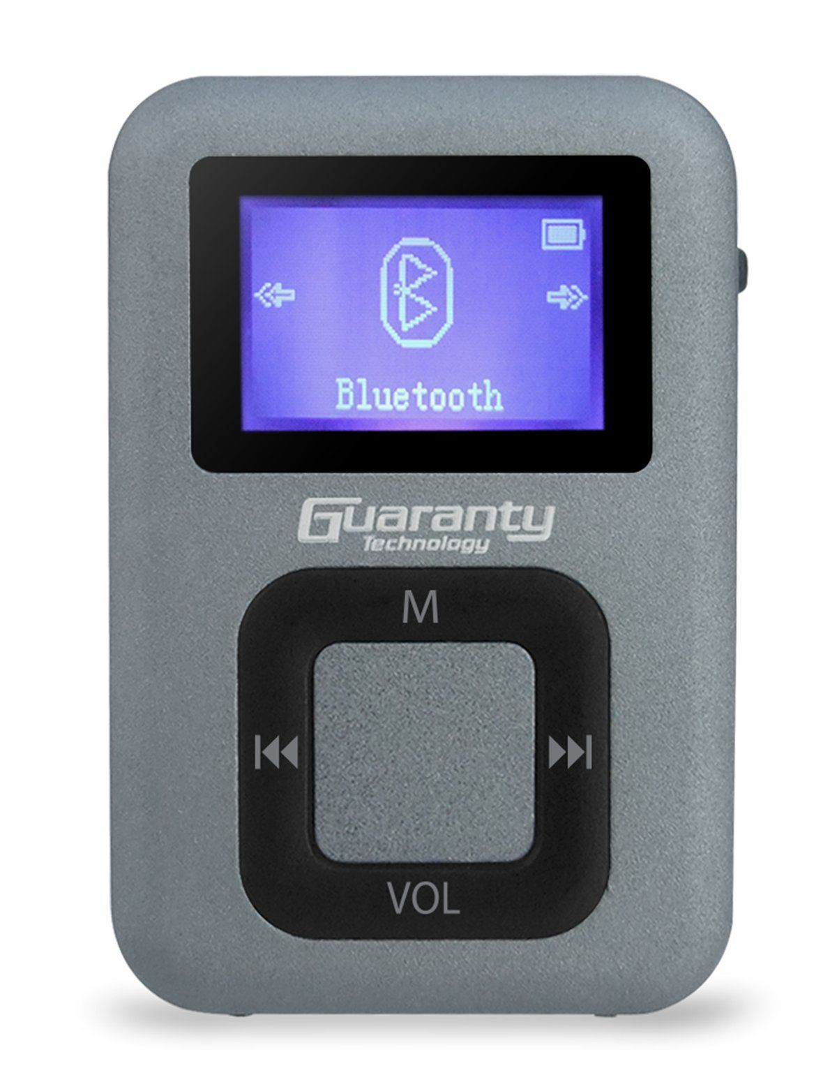 Guaranty 8GB Clip Portable Bluetooth MP3 Music Player with