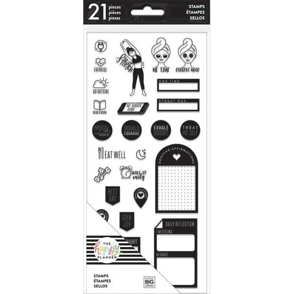 The Happy Planner Clear Stamps - Fitness/Wellness , #spon, #Clear, #Planner, #Happy, #Wellness, #Fit...