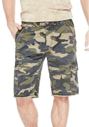 60586e1ae4 GUESS Men's Carter Camo Shorts | Bermuda/ Boys Half nicker | Camo ...