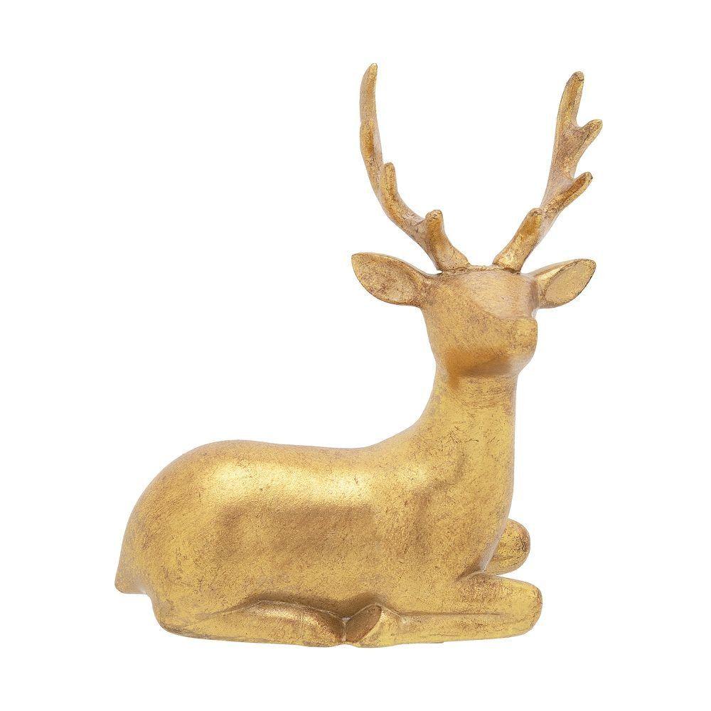 A Rena Mais Famosa Do Papai Noel rena deitada direita fantasy 15 cm ou  rena