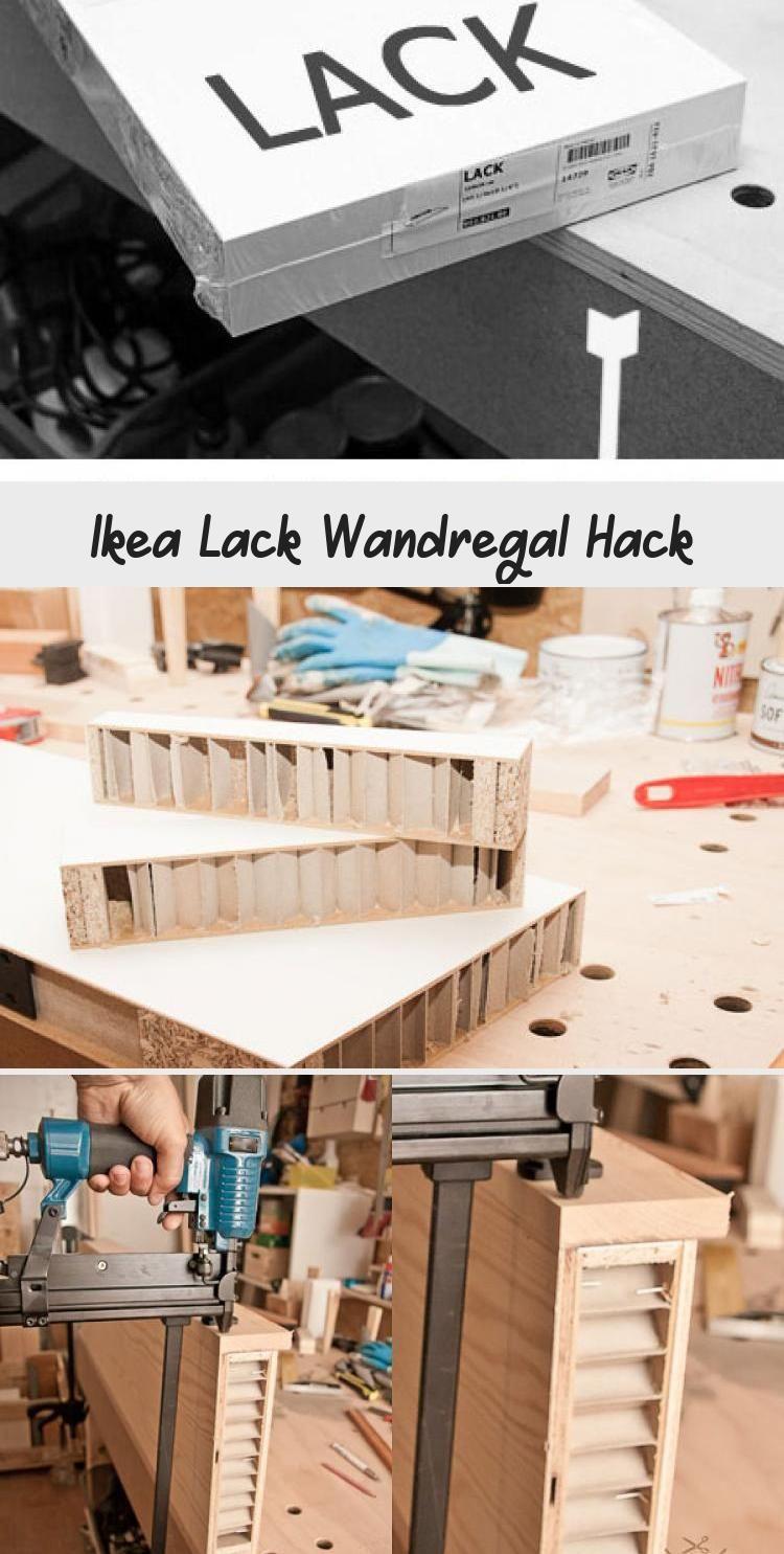 Ikea Lack Wandregal Hack Handgemacht Fussgegangen