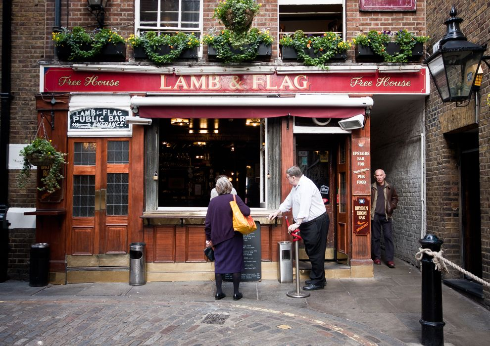 Lamb And Flag London British Pub Old Pub Pub