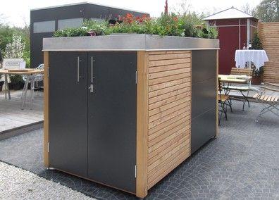 m llh user und fahrradh user stahl f r den garten und das heim au enanlage garten. Black Bedroom Furniture Sets. Home Design Ideas