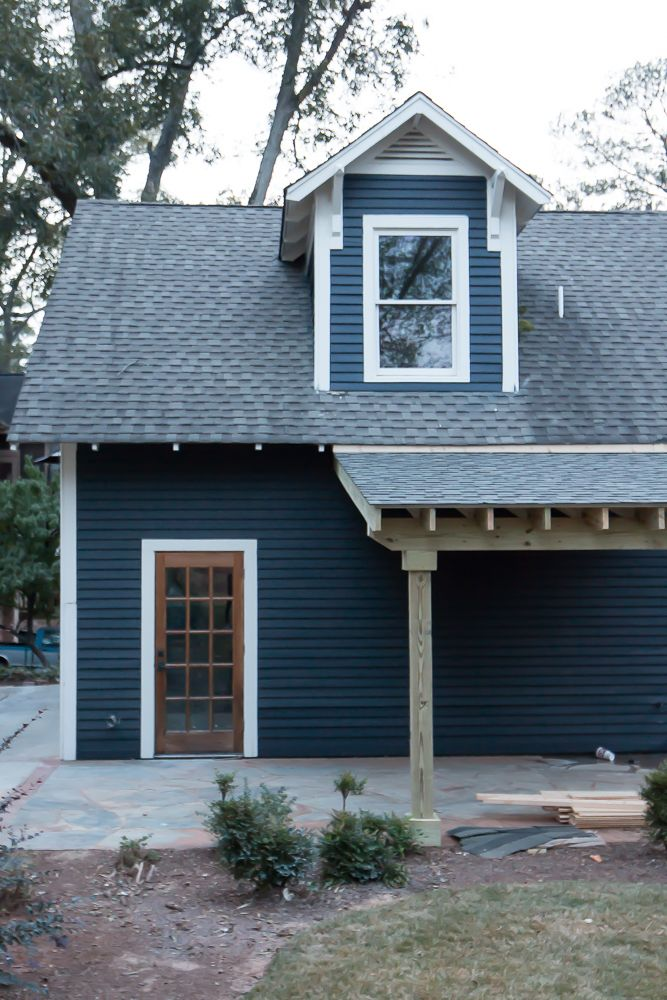 Showing The Exterior Some Love House Exterior Blue Exterior House Colors House Exterior