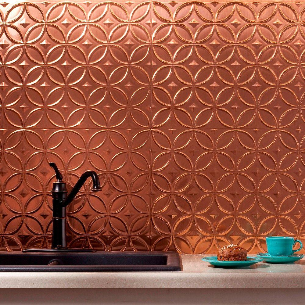 Decorative Tile Panels Fasade 24 Inx 18 Inrings Pvc Decorative Backsplash Panel In