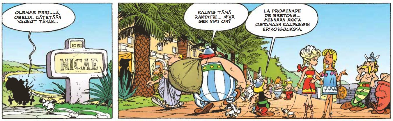 Asterix lyö vetoa. #sarjakuva #sarjis #egmont