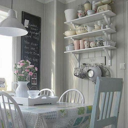 Interesting Facts About Shabby Chic Country Kitchen Design: Inspiracje W Stylu Shabby Chic, Shabby Chic, Wystrój