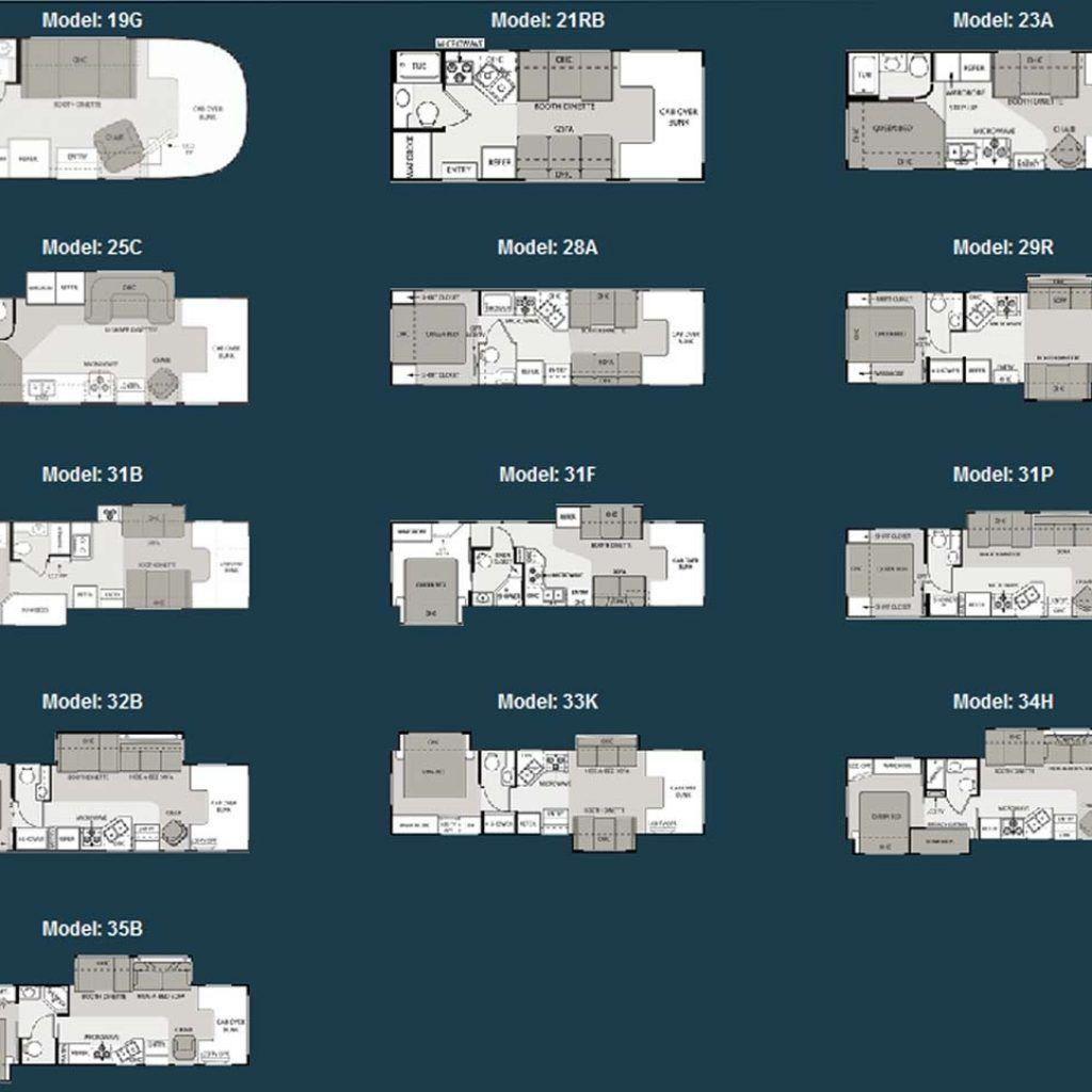 2001 Four Winds Travel Trailer Floor Plans   http://viajesairmar.com ...