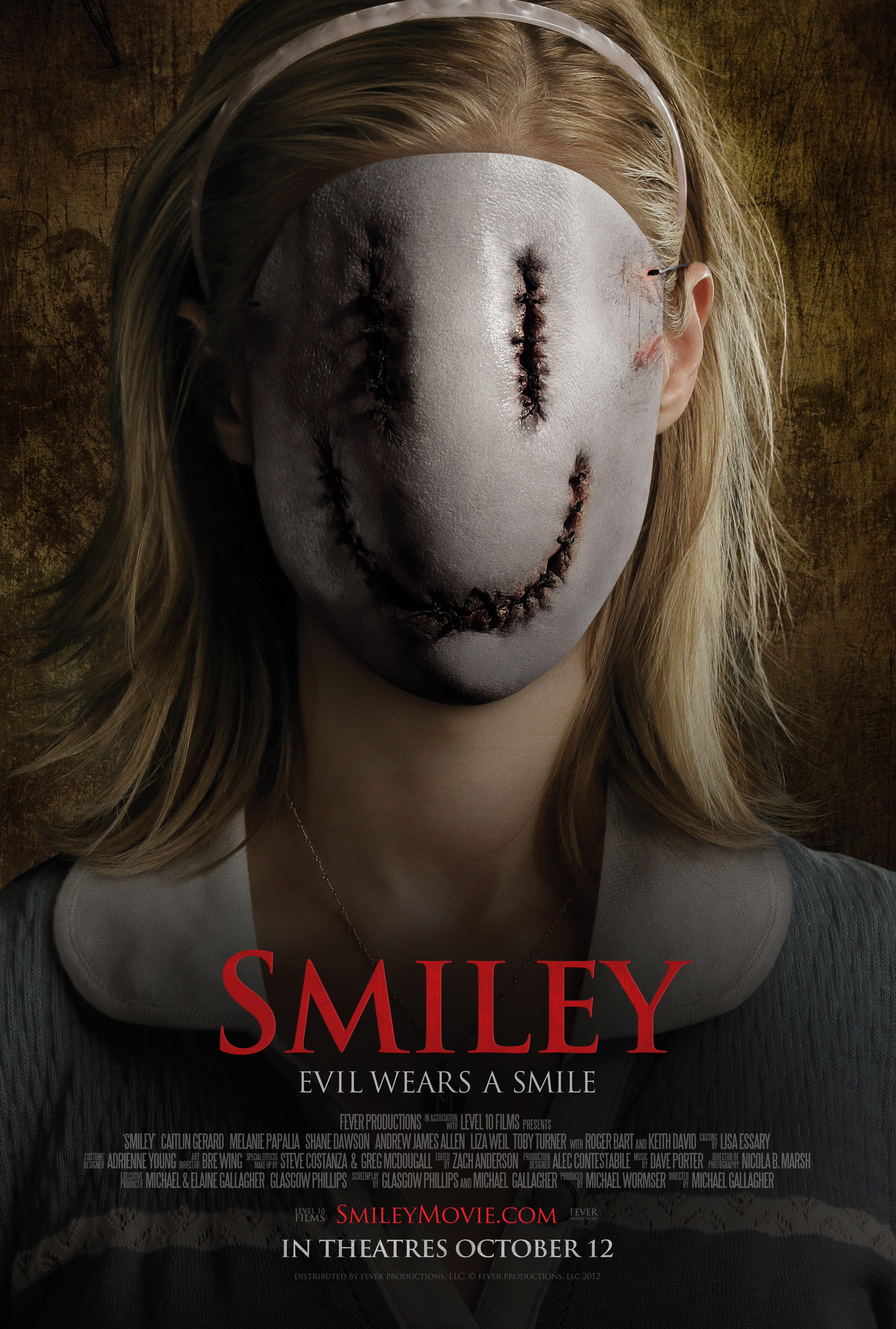 Smiley Rotten Tomatoes Korku filmleri, Poster