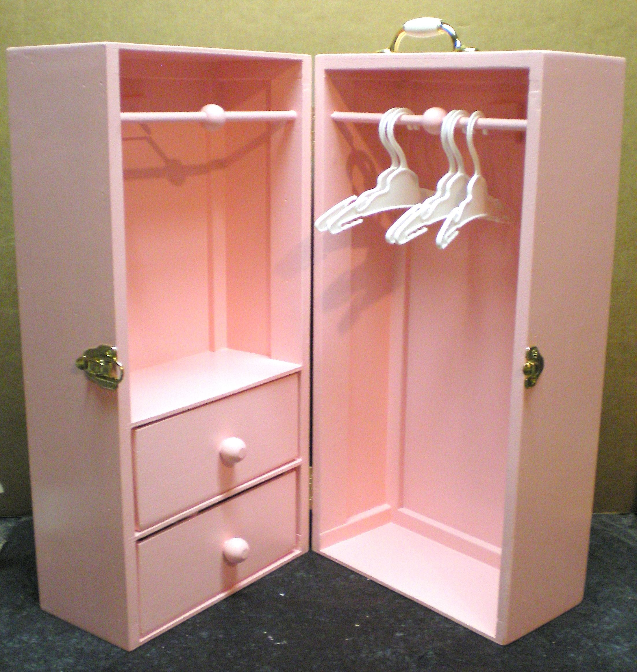 Doll Trunk American girl doll furniture, Doll clothes