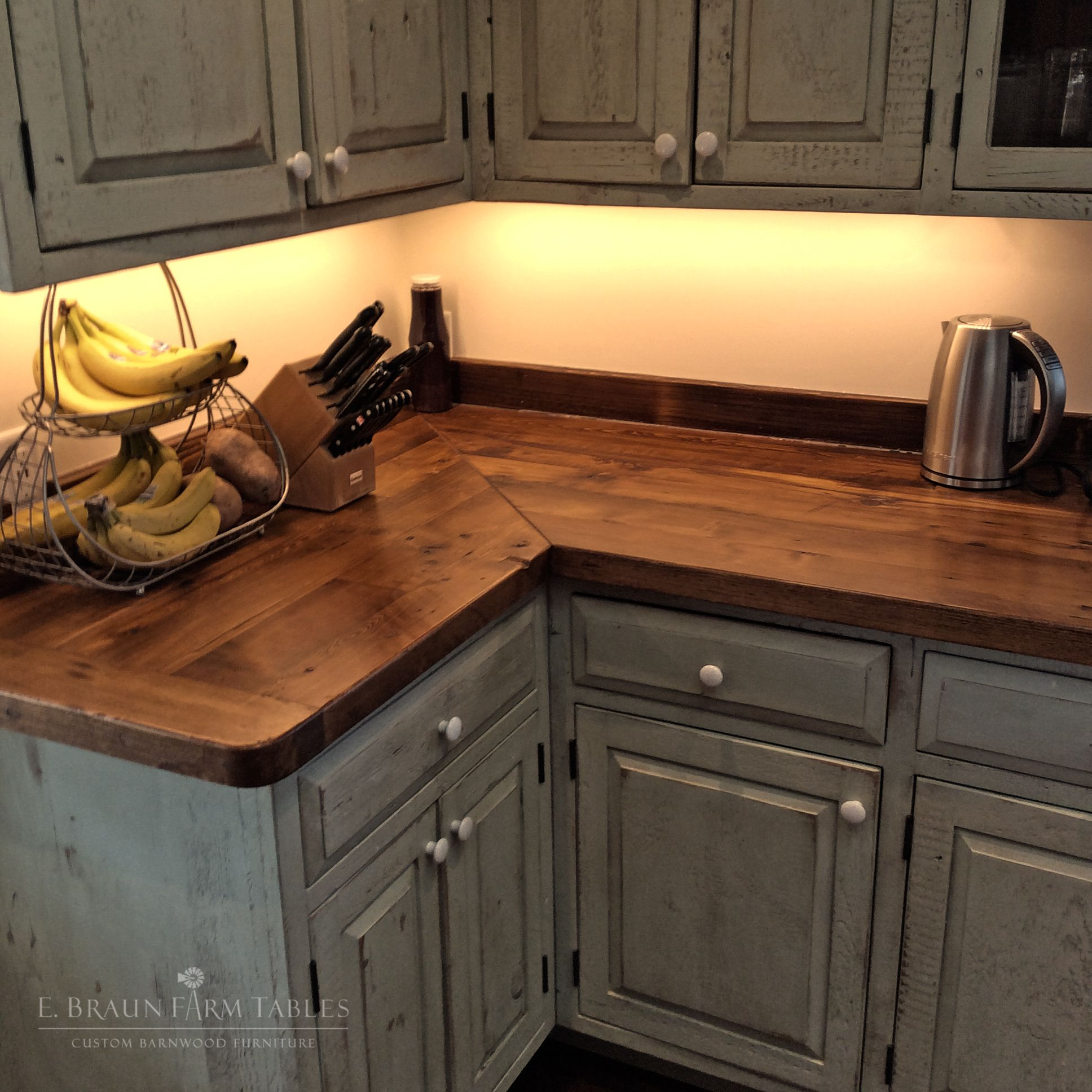 Reclaimed Barn Wood From Dismantled Barns And Farm Structures Dating From The 1800 S To Early 1900 Wood Countertops Kitchen Kitchen Table Wood Kitchen Remodel