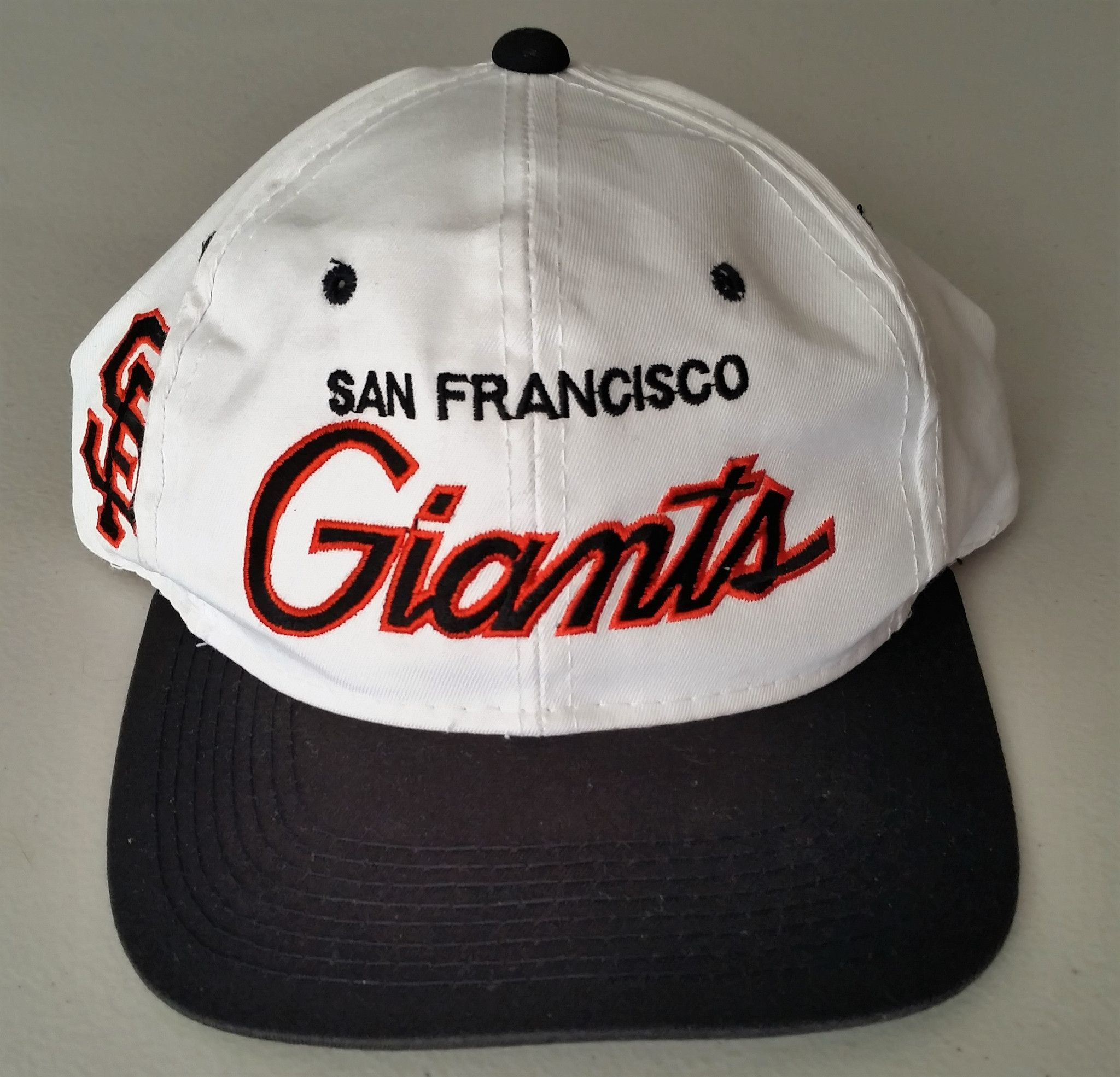 detailed look latest discount authentic where can i buy san francisco giants script hat dc2ae 22d4a