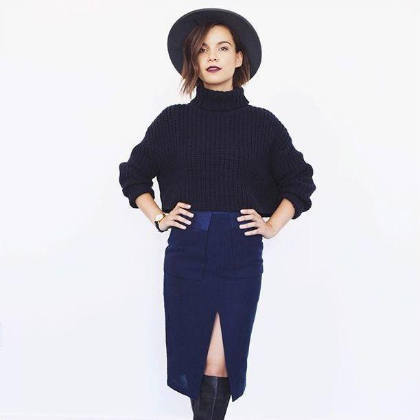 @ingridnilsen wears @finderskeepersthelabel Like Smoke Knit // available online now //