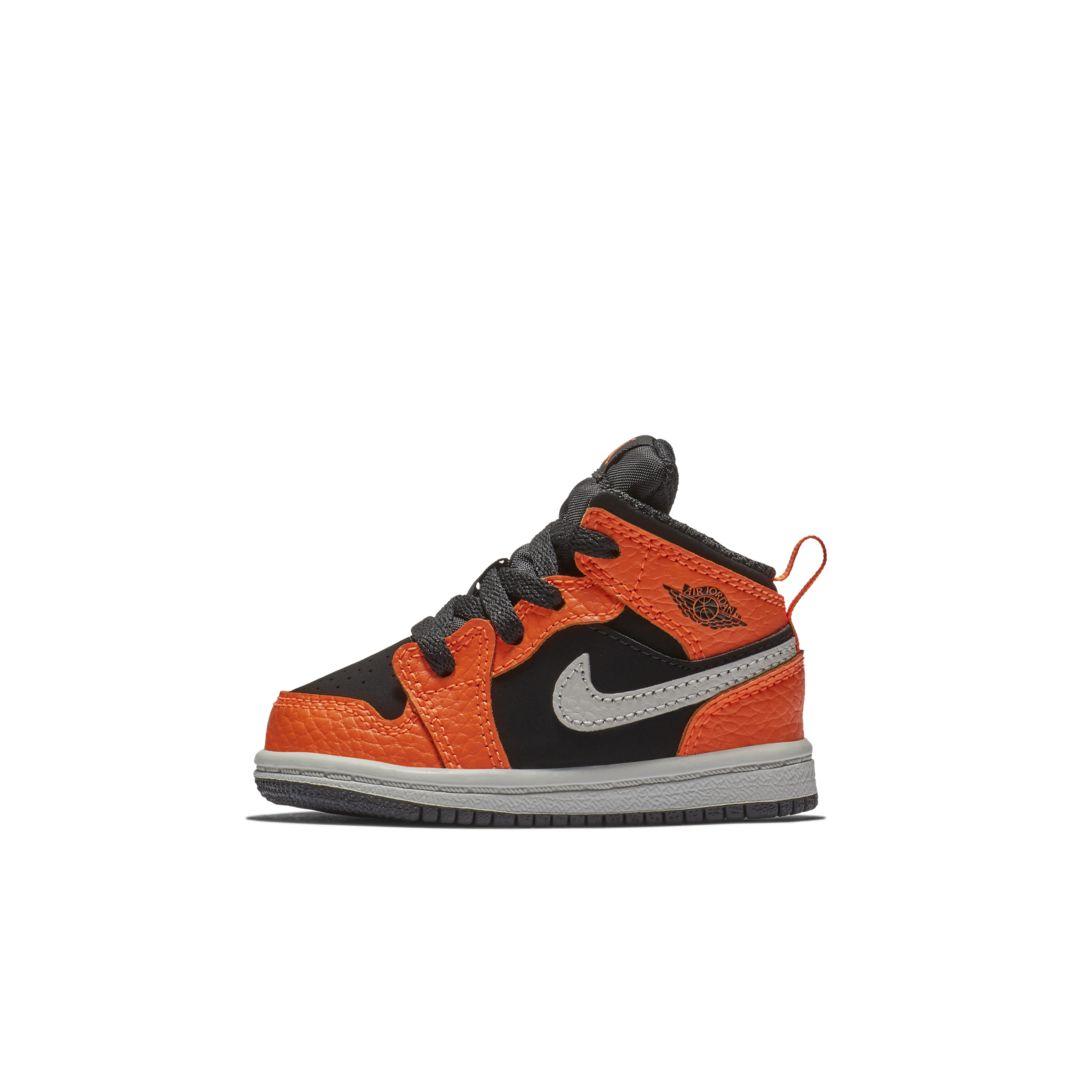 Air Jordan 1 Mid Infant/Toddler Shoe | Toddler shoes ...