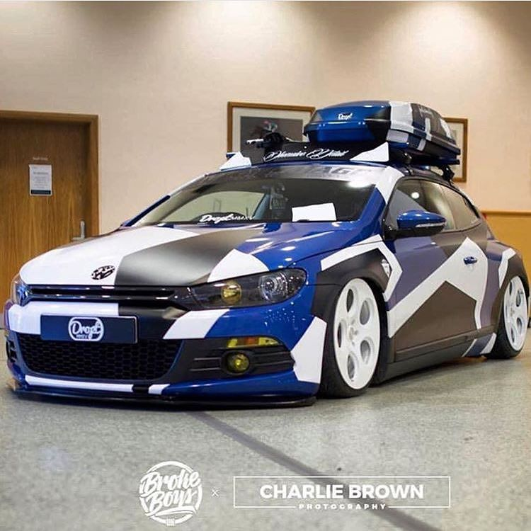 Wrappermapper Com On Instagram Wrapped And Clean By Vinylimage Prom Camo Car Car Wrap Volkswagen Scirocco