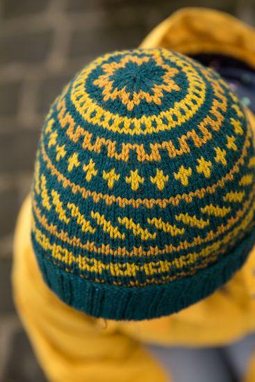 Cartography Hat by Tin Can Knits Projekty Pletení 05c3dfb779