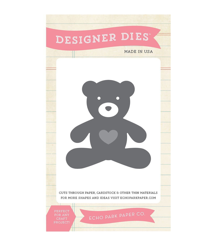 Scrapbook paper echo park - Echo Park Paper Company Teddy Bear Dies
