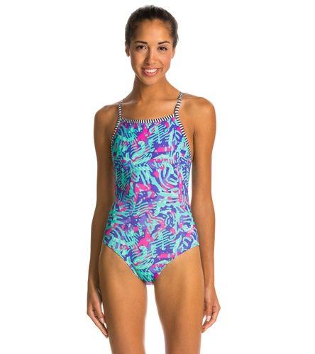 Dolfin Uglies Zahara Women's V-2 Back One Piece Swimsuit at SwimOutlet.com –