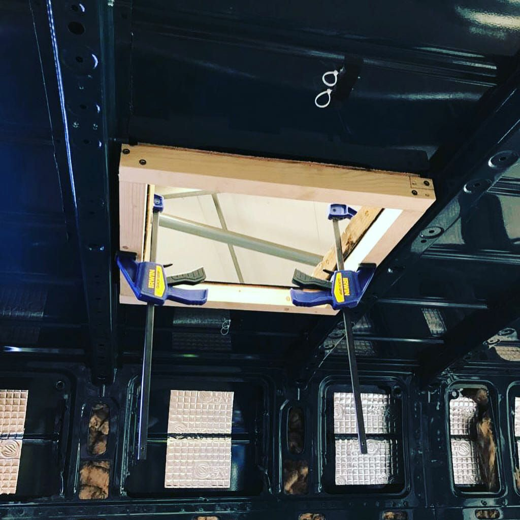This Guide Has All Of The Instructions You Need To Install A Roof Vent Fan In Your Campervan Conversion Camper Van Conversion Diy Van Cargo Trailer Conversion