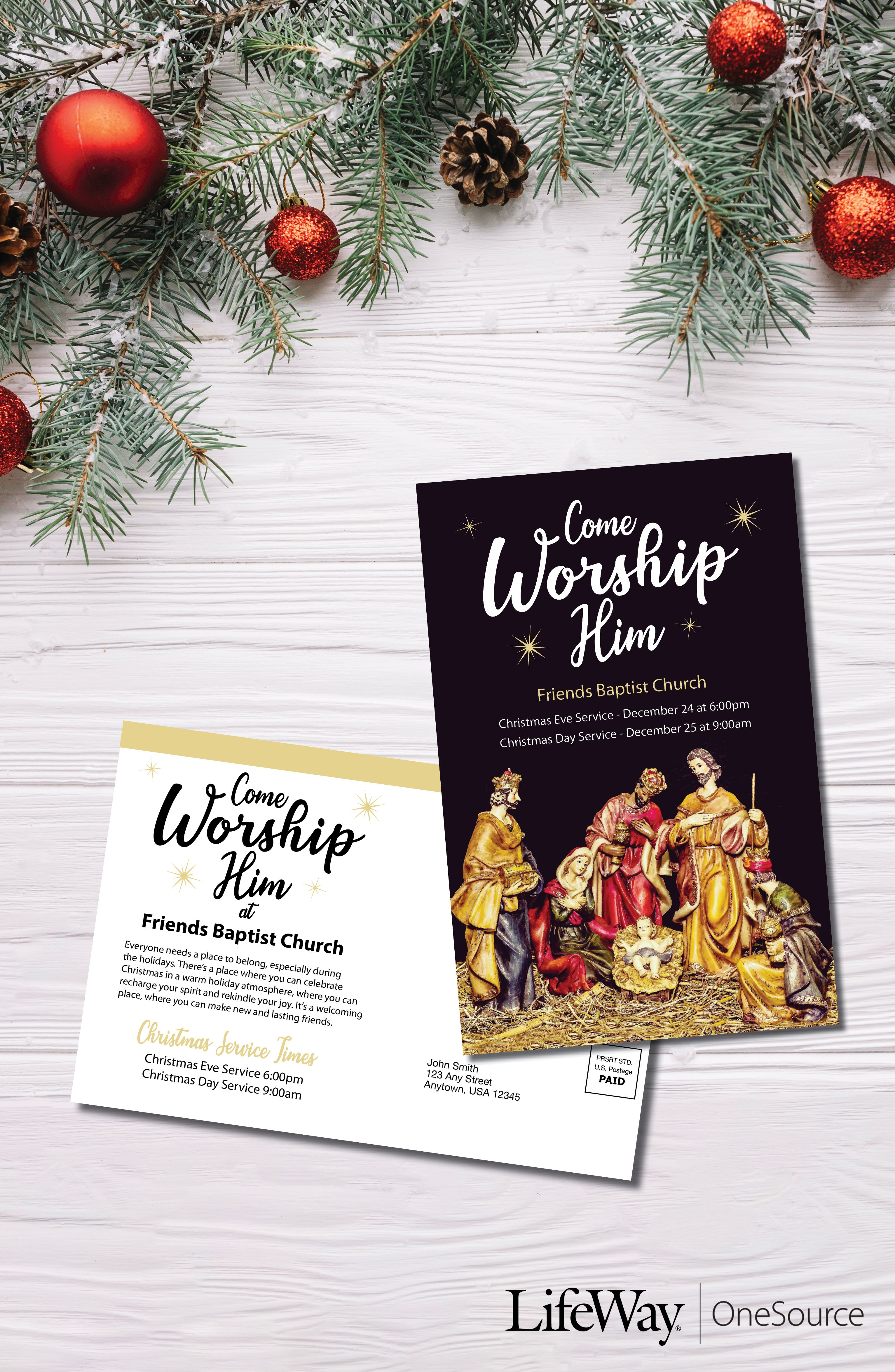 Christmas Musical Invitation for \