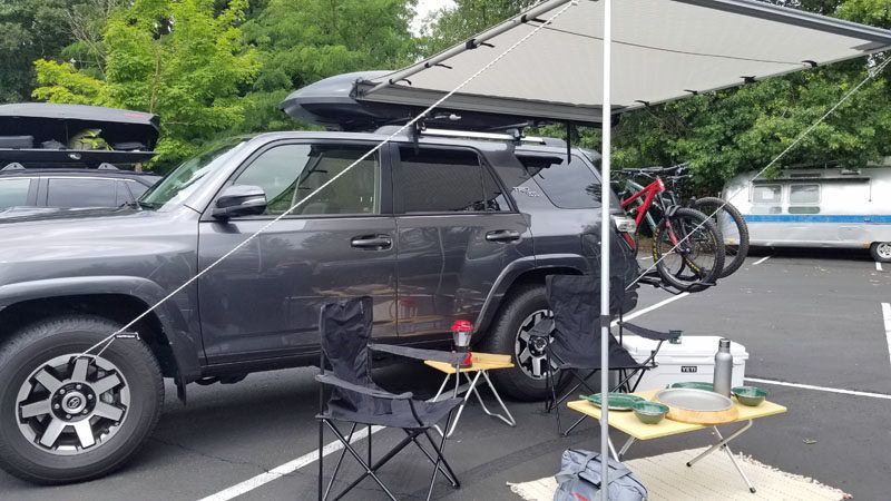 This Small Suv Is Big On Adventure Toyota Rav4 A Girls Guide To Cars In 2020 Small Suv Toyota Rav4 Rav4