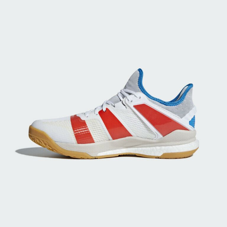 adidas Stabil X Men/'s Volleyball Shoes White New Athletic Sneakers 2018  B22571