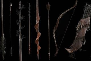 The Hobbit: The Desolation of Smaug - Gundabad Orc Bows and Arrows Weta Workshop