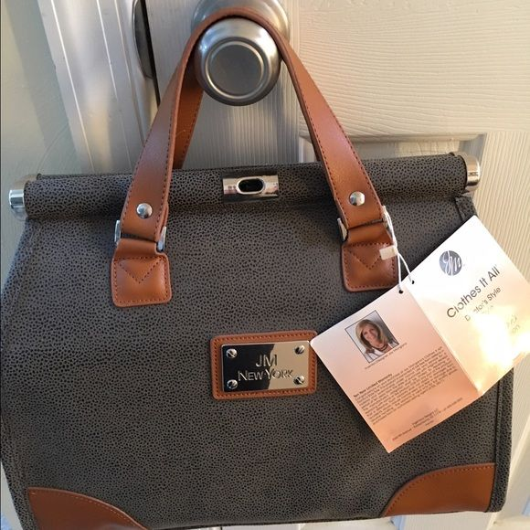 Jm Of New York Doctor Bag With Tags