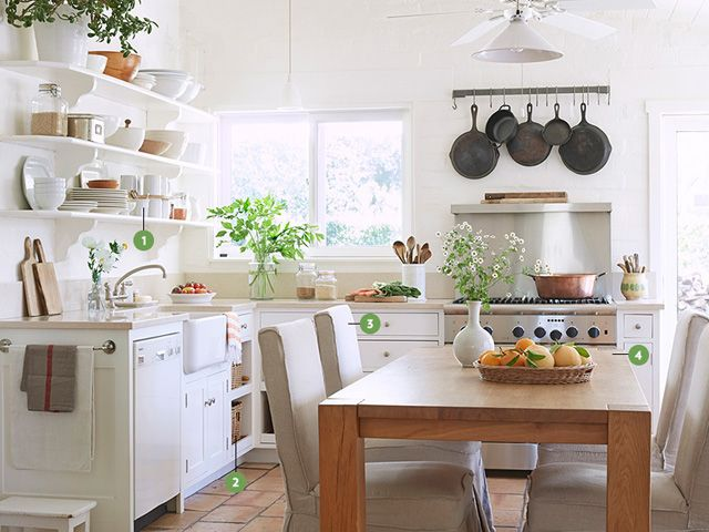 Kitchen Inspiration 7 Ways To Warm Up White For The Home