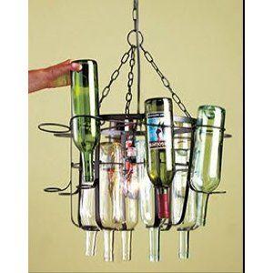 Tuscan style wine bottle chandelierl you need is the bottles tuscan style wine bottle chandelierl you need is the bottles mozeypictures Gallery