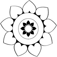 afbeeldingsresultaat voor mandala kleurplaat makkelijk