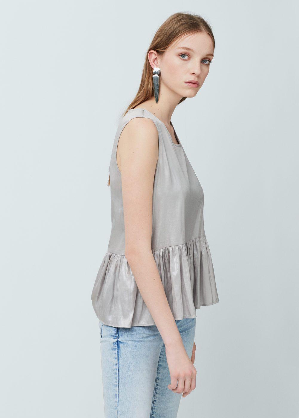 c212342e7d4e Top péplum - Chemises pour Femme