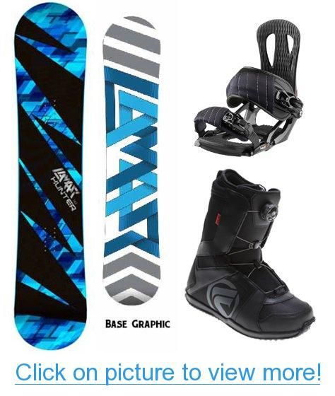 Lamar Hunter Complete Snowboard Package With Head NX One