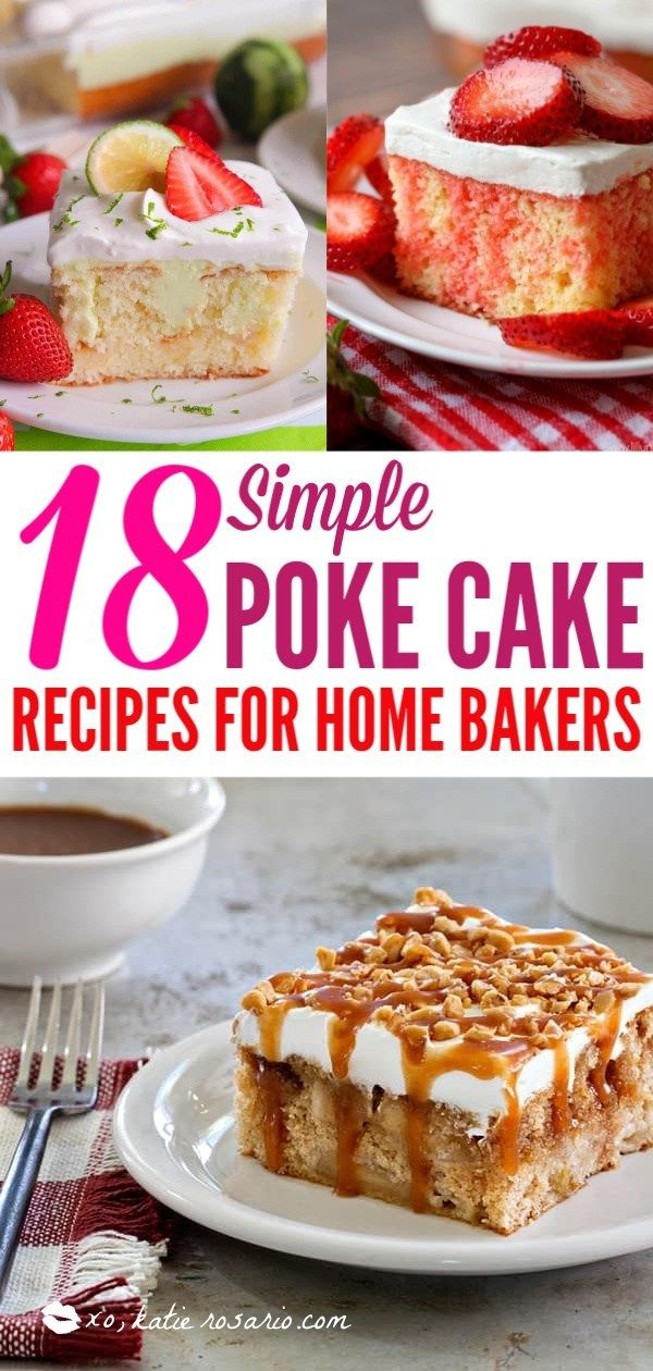 18 Quick and Easy Poke Cakes You Need to Try images