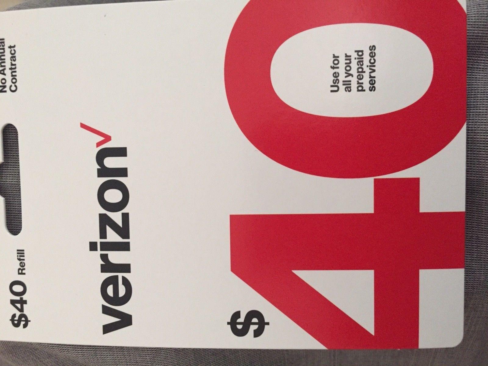 Phone and Data Cards 43308 Brand New 40 Verizon Wireless