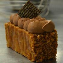 Mille-Feuille Chantilly au chocolat, crème pâtissière au chocolat, feuilletage caramélisé - Stéphane Pasco