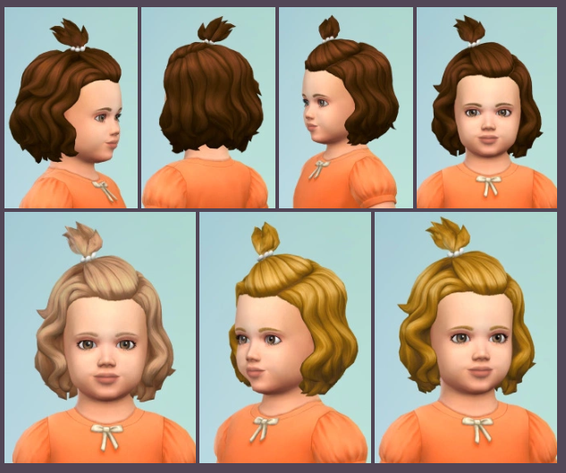 Toddler Cliphair By Birkschessims Sims Sims 4 Sims I