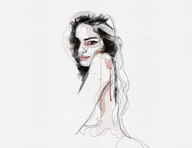 Robert Dean Art : Illustration and Design : Watercolor Portraiture