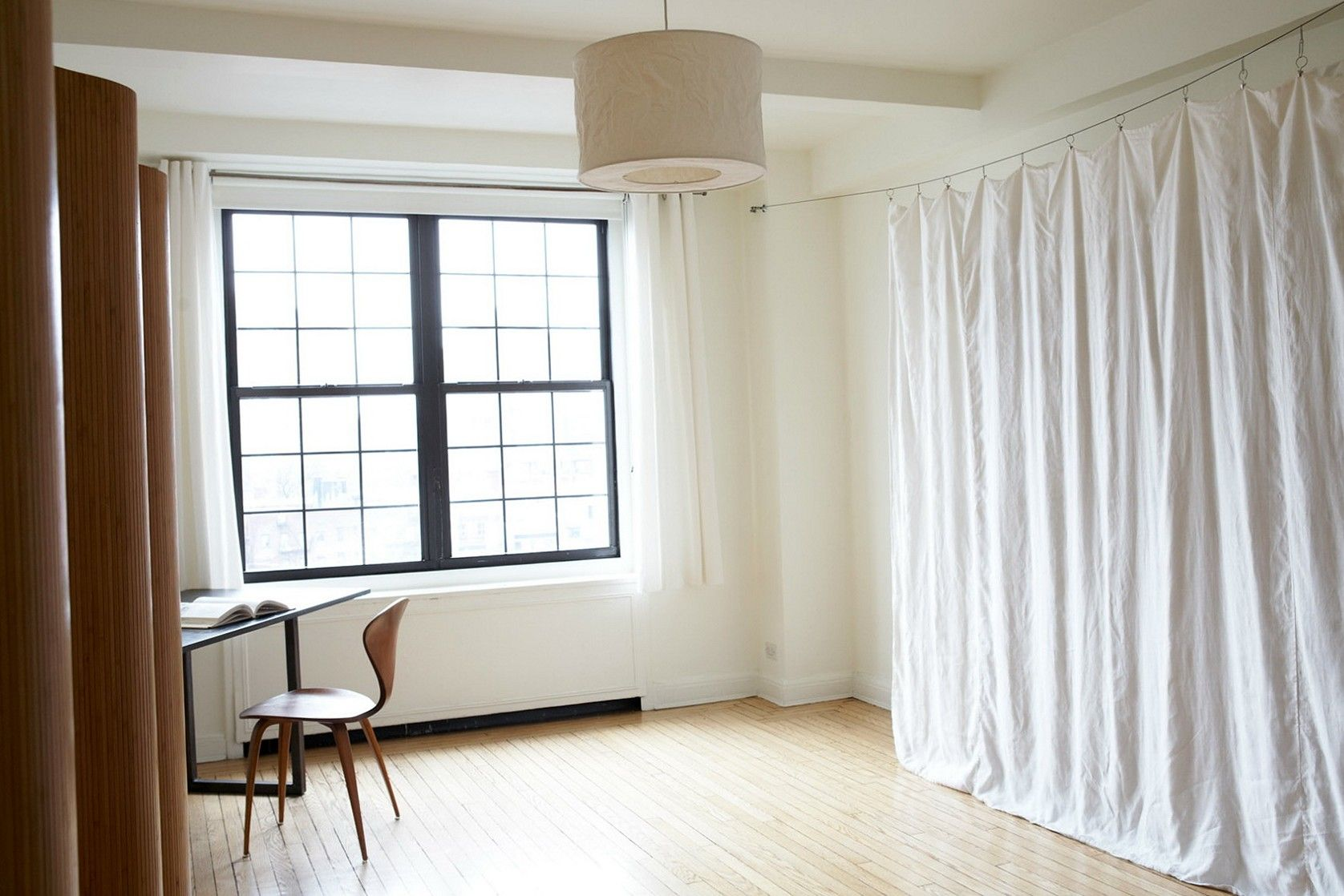 DIY Room Divider Curtain Cheap Office Ideas Pinterest Room