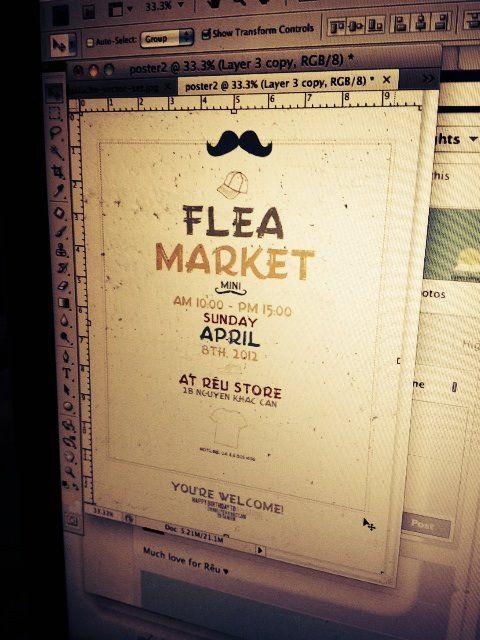 Flea Market.