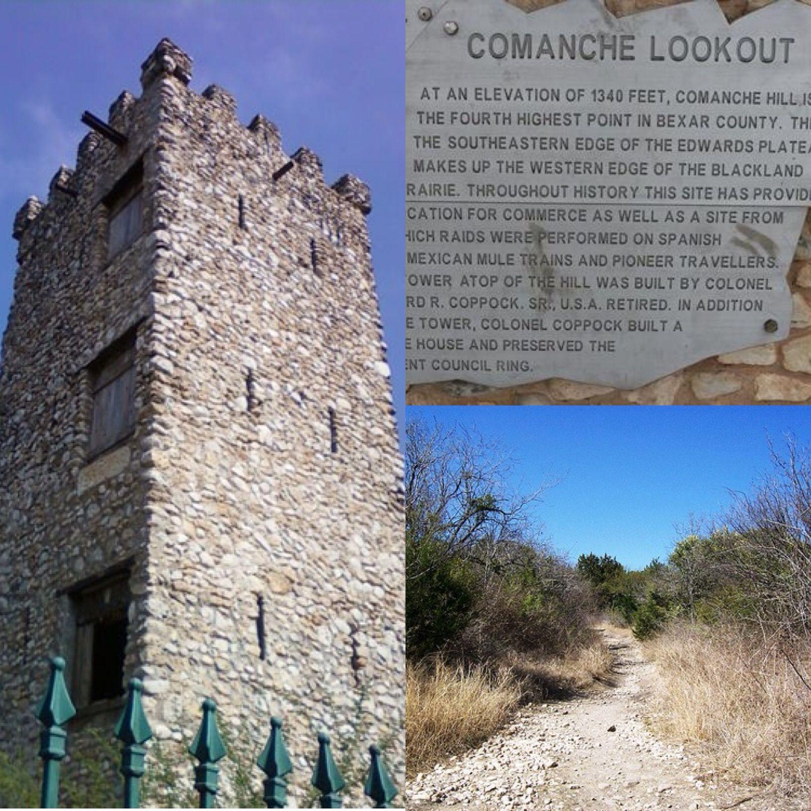 comanche lookout park is a 96 acre public park owned by the city of san antonio the site includes the fourt san antonio travel san antonio texas coastal plain comanche lookout park is a 96 acre