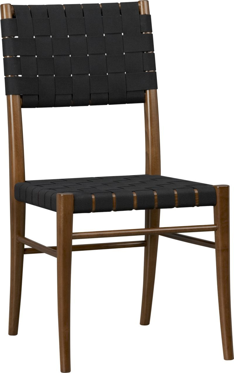 Oslo Side Chair Crate And Barrel Black Side Chair Dining Chairs Side Chairs