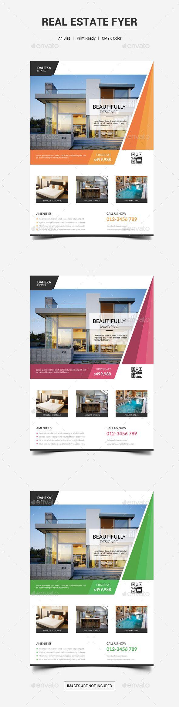 Real Estate Flyer V Pinterest Real Estate Flyers Flyer - Photoshop real estate flyer templates