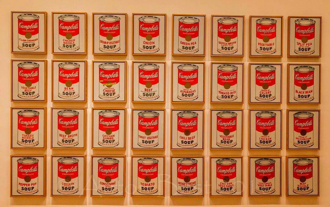 Campbell S Soup Cans By Andy Warhol 1962 Museumofmodernart Moma Art Andywarhol Campbellsoupcans Campbell S Soup Cans Campbell Soup Soup Beans